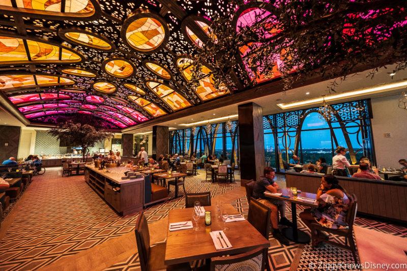 Interior of Toledo Tapas Steak and Seafood Restaurant Disney World