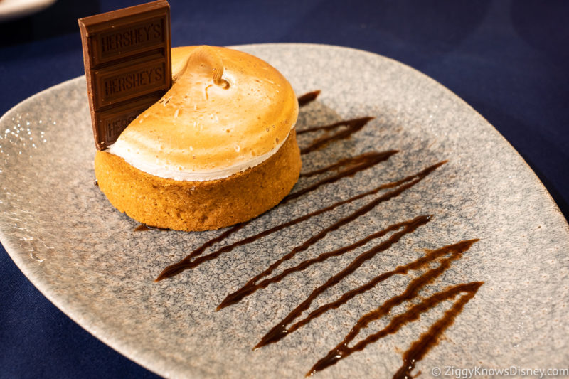 Dessert at Narcoossee's Restaurant