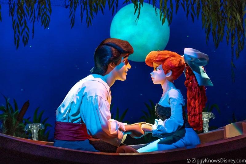 Little Mermaid ride Magic Kingdom