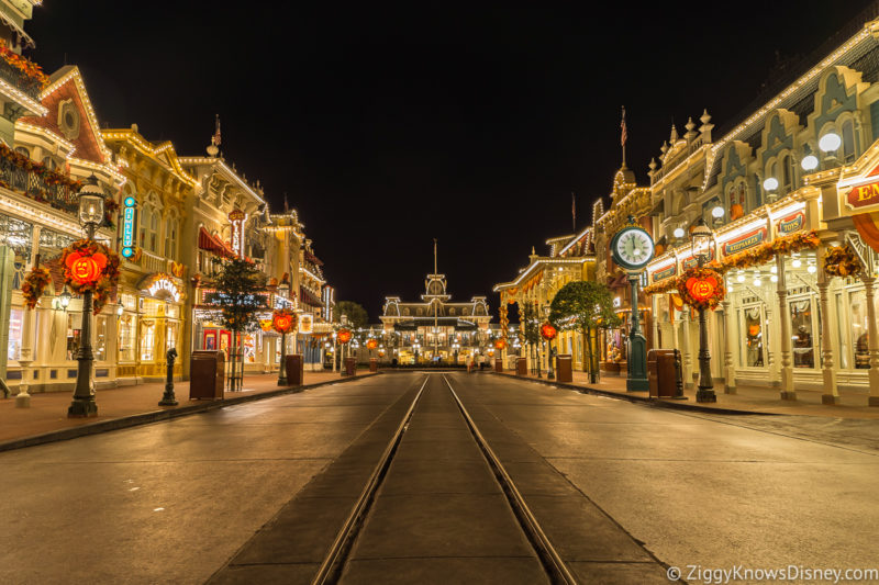 Disney World extended evening hours