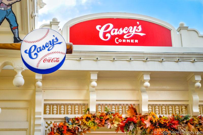 Casey's Corner Magic Kingdom Disney World