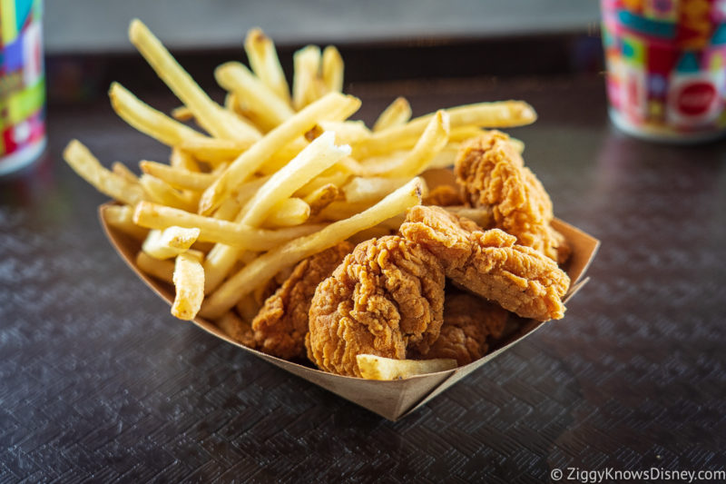 Chicken Nuggets and fries Magic Kingdom