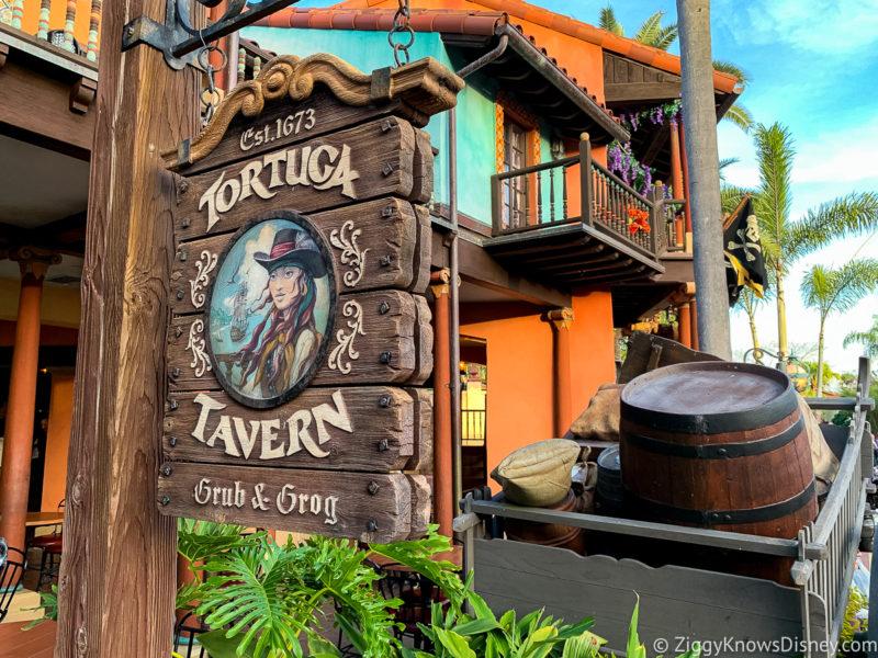 Tortuga Tavern Magic Kingdom