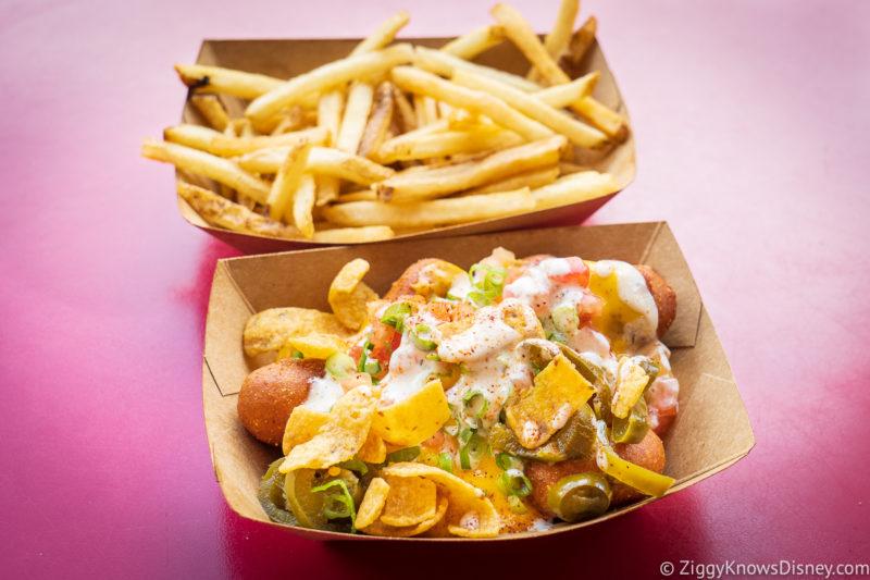Casey's Corner Magic Kingdom Corn Dog Nuggets and Fries