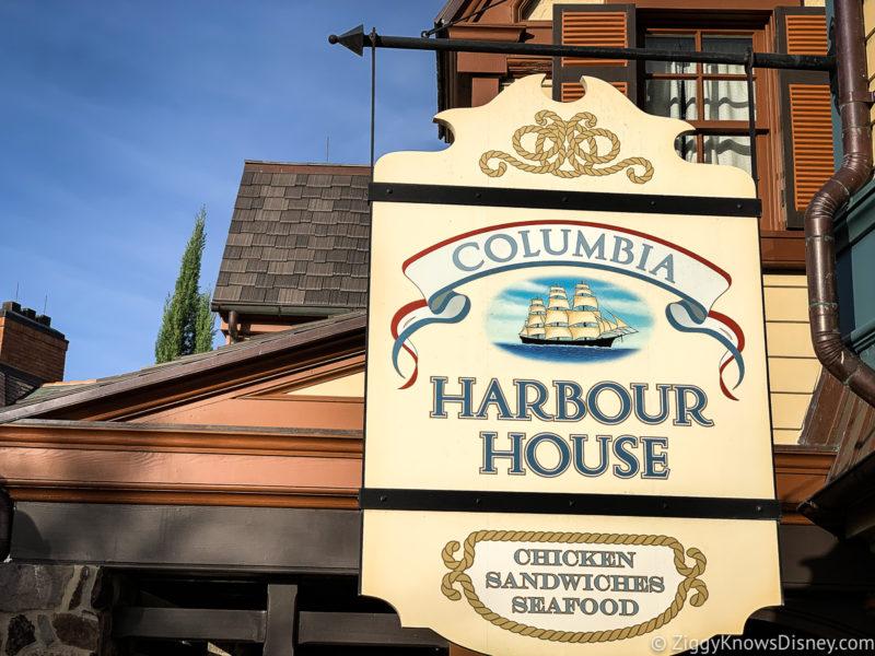 Columbia Harbour House Magic Kingdom