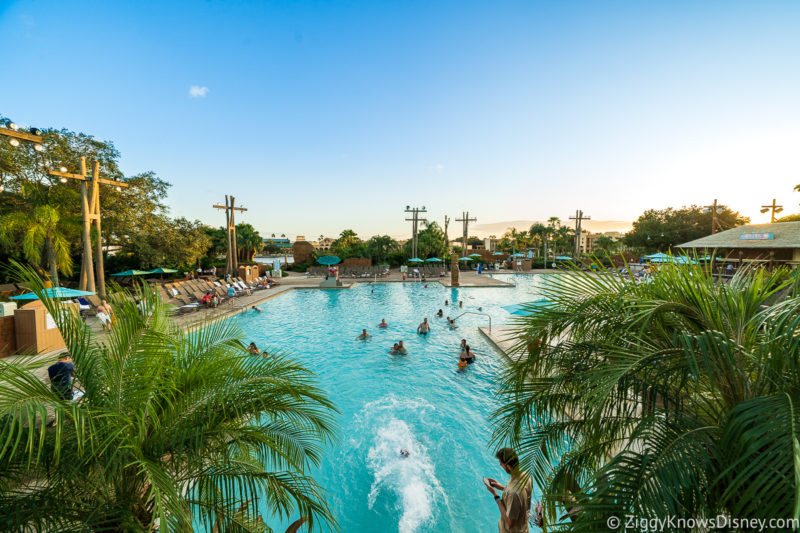 Coronado Springs pool Disney World