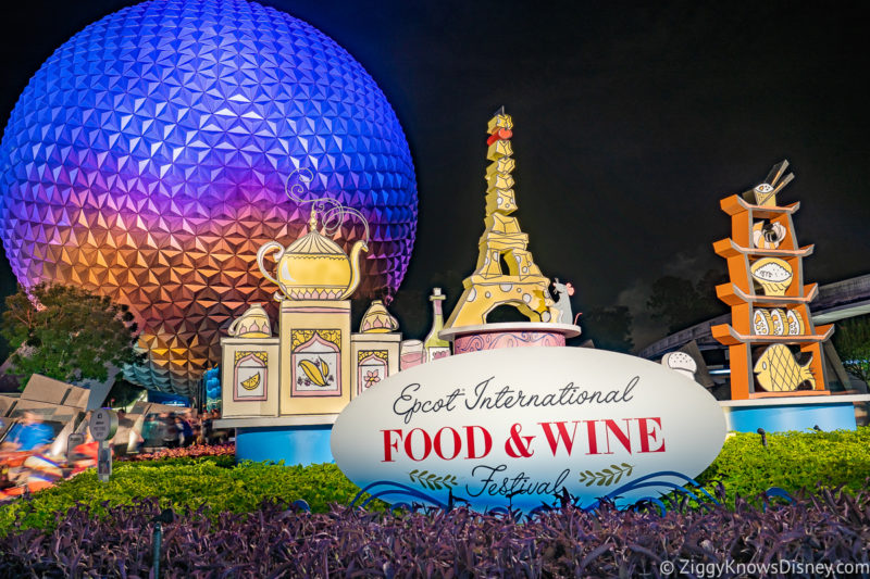 Disney World Events in August