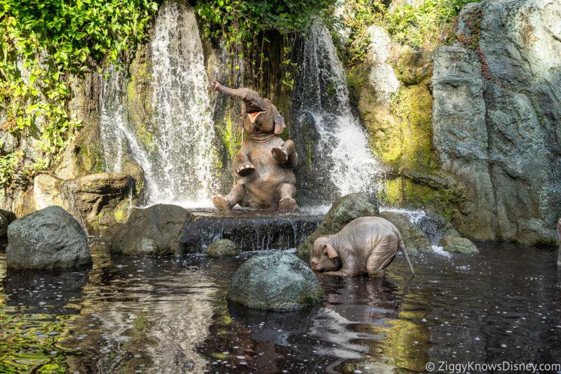 Elephant Scene Jungle Cruise ride Magic Kingdom