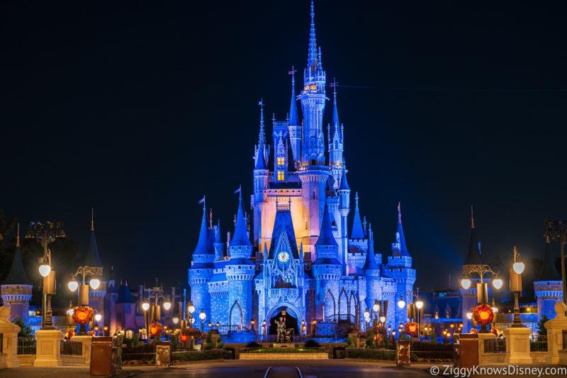 Crowds at Disney World in September
