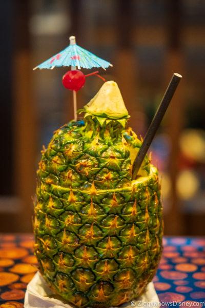 Pineapple Drink Polynesian Resort Disney World