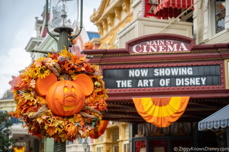 Halloween Party Disney World in September