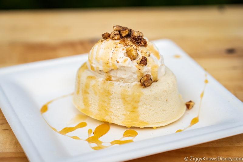 Maple Bourbon Boursin Cheesecake EPCOT Food and Wine Snacks 2021