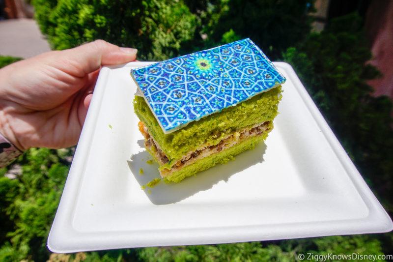 Pistachio Cake EPCOT Food and Wine