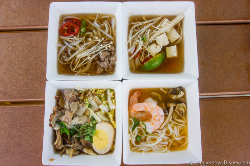 The Noodle Exchange EPCOT Food and Wine Snacks 2021