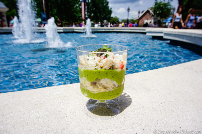 Chilled Crab and Avocado Parfait with Caviar