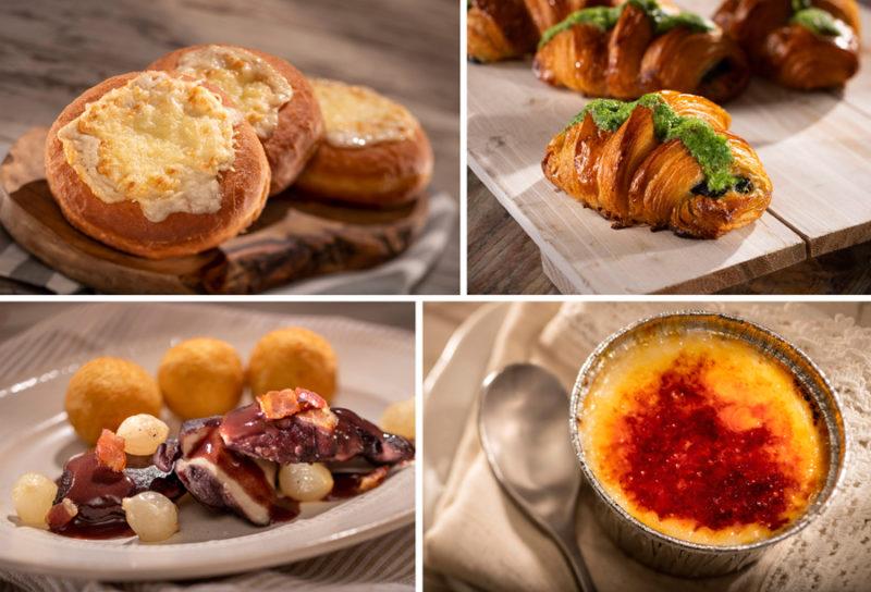 Epcot Food and Wine Menus France