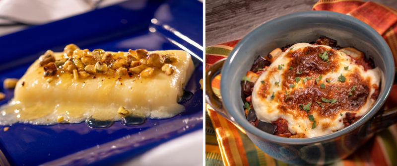 Epcot Food and Wine Menus Greece