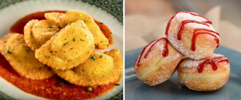 Epcot Food and Wine Menus Italy