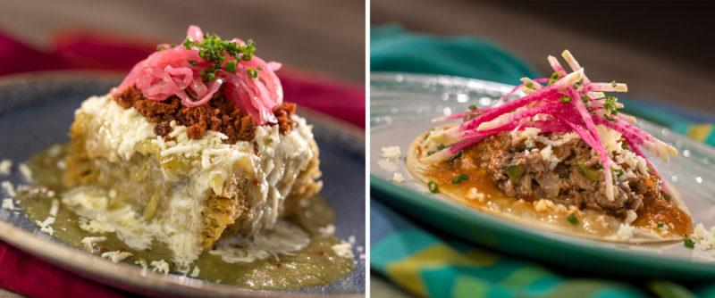 Epcot Food and Wine Menus Mexico