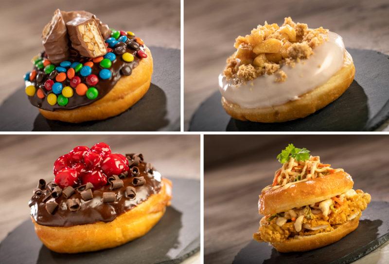 Epcot Food and Wine Menus The Donut Box