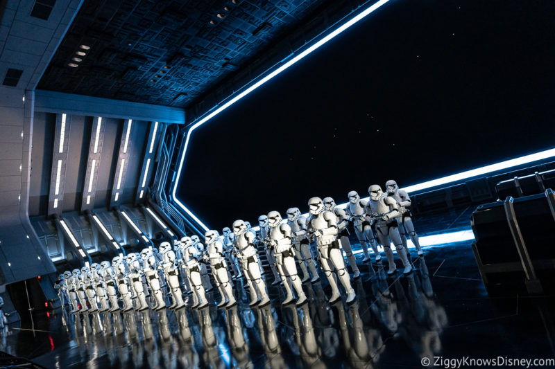 Rise of the Resistance Docking Bay with stormtroopers