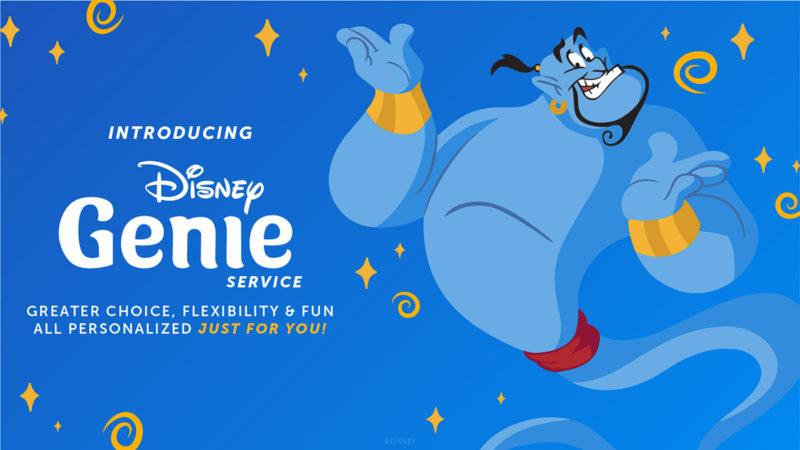 Disney Genie Planning App