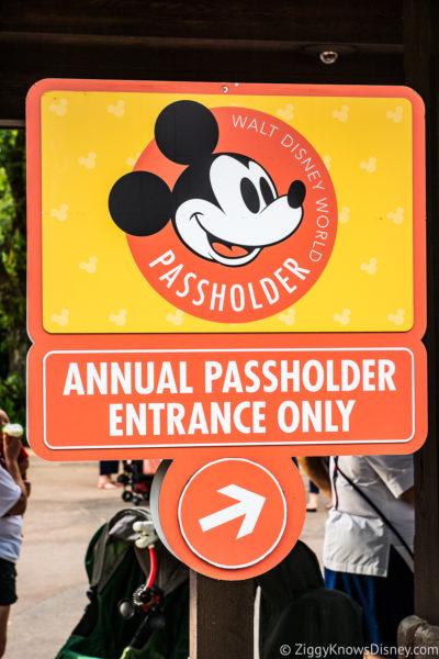 Disney World Annual Passholder Entrance