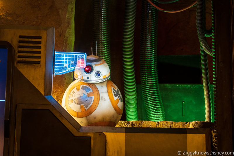 BB-8 Rise of the Resistance in Galaxy's Edge
