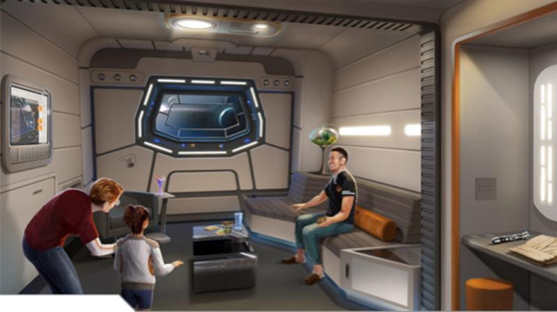 Galactic Starcruiser Galaxy Class Suite