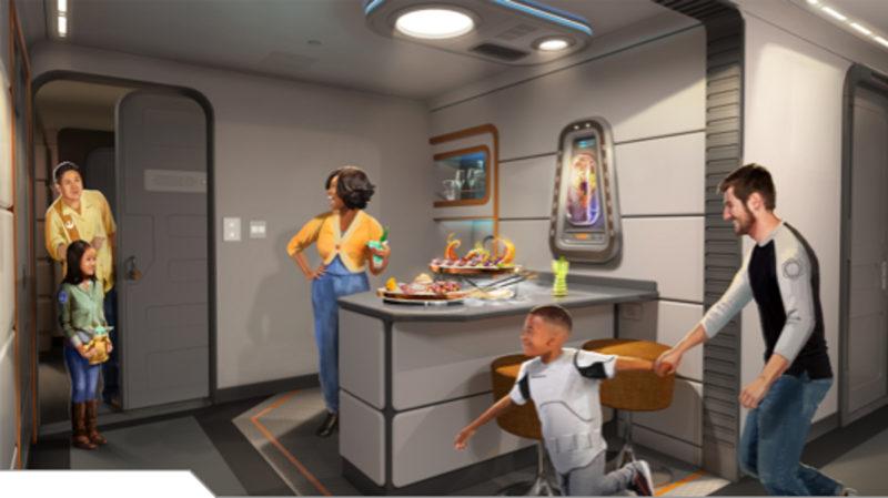 Star Wars: Galactic Starcruiser Captain Suite