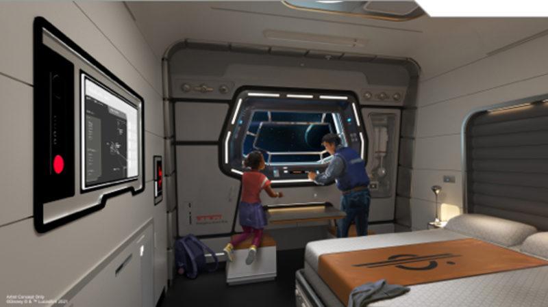 Galactic Starcruiser Grand Captain Suite