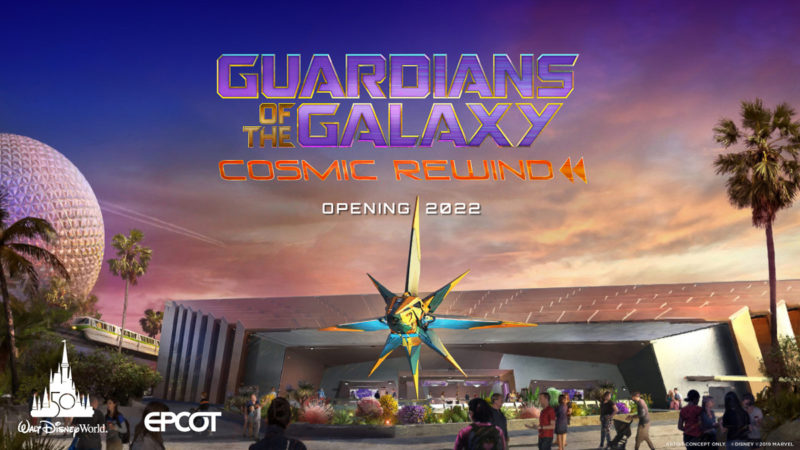 Guardians of the Galaxy Cosmic Rewind Opening Date