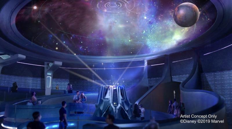 Galaxarium in Wonders of Xandar pavilion