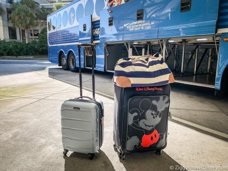 Luggage at Orlando International Airport