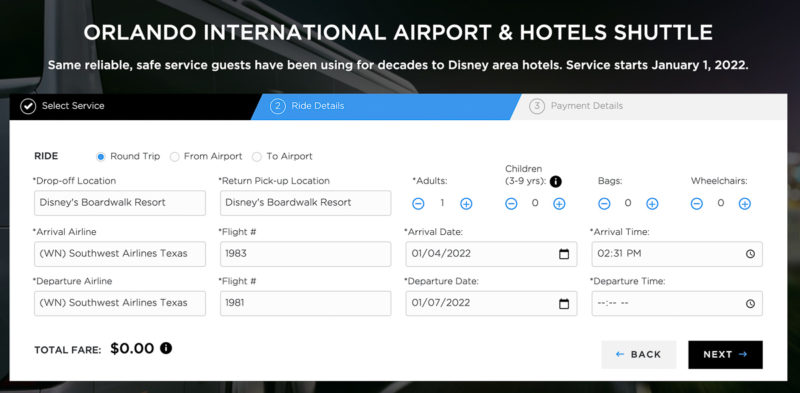 Orlando International Airport to Disney World