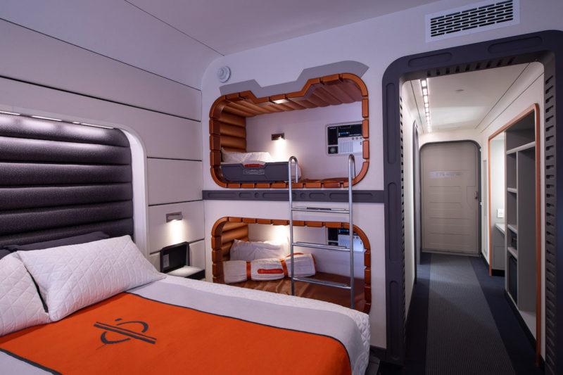 Star Wars: Galactic Starcruiser Hotel Room