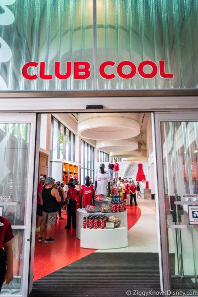 Club Cool Entrance