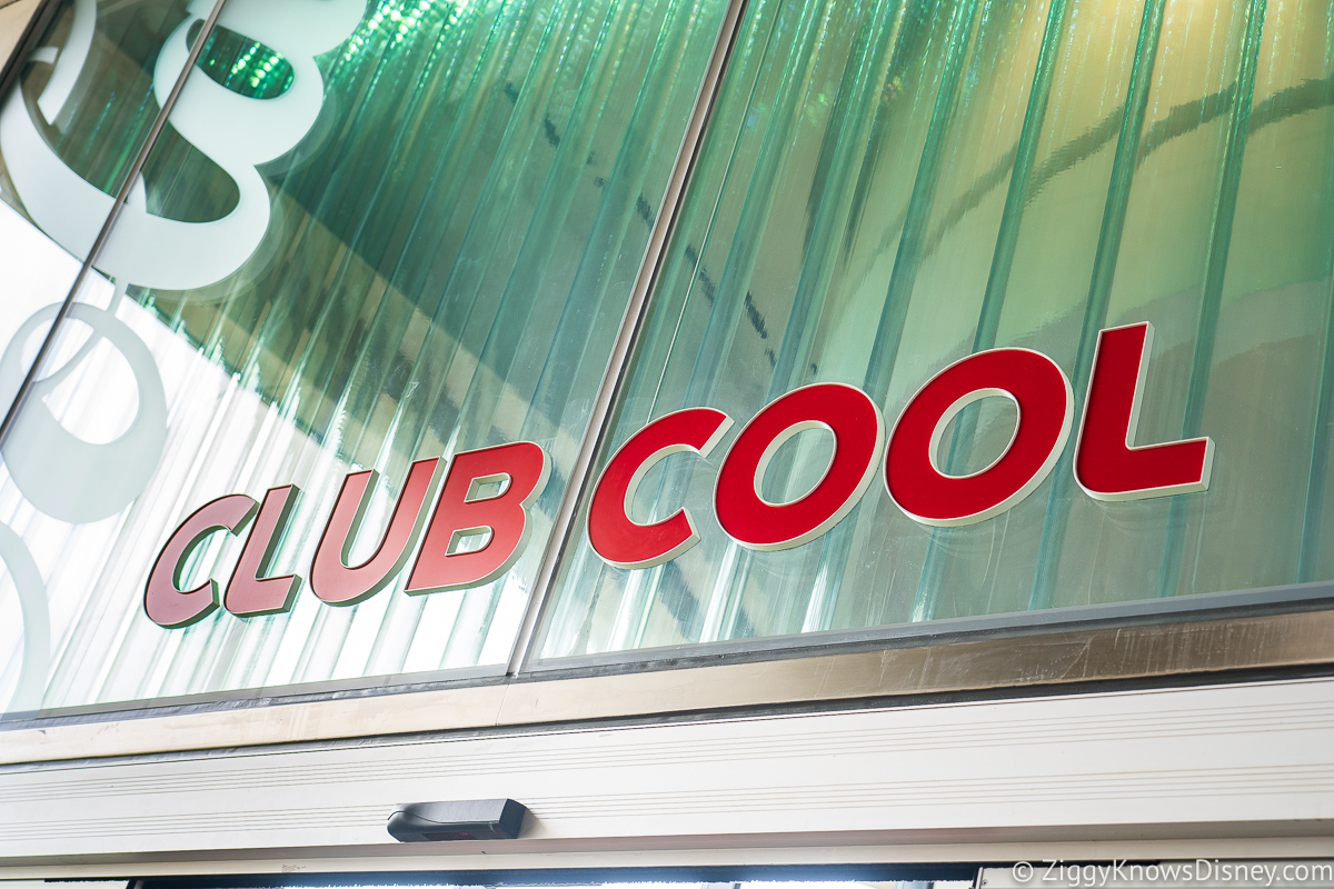 Club Cool Sign EPCOT