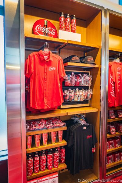 Merchandise on the shelves