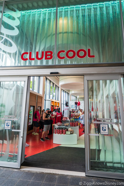 Club Cool in World Celebration EPCOT