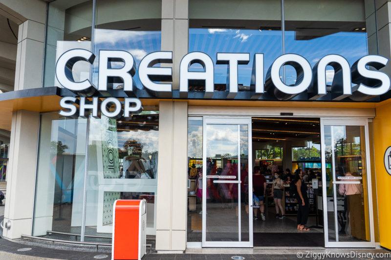 Creations Shop Entrance EPCOT