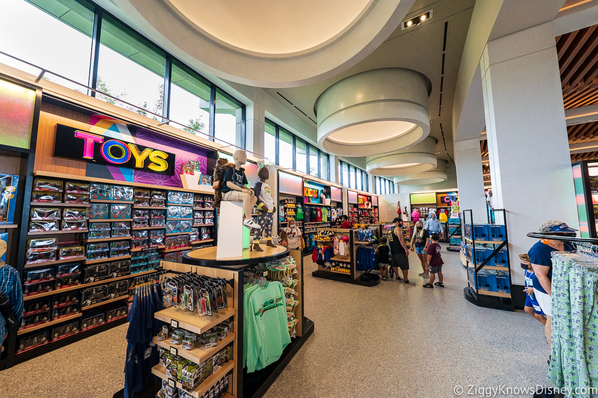 Toys display Creations Shop EPCOT