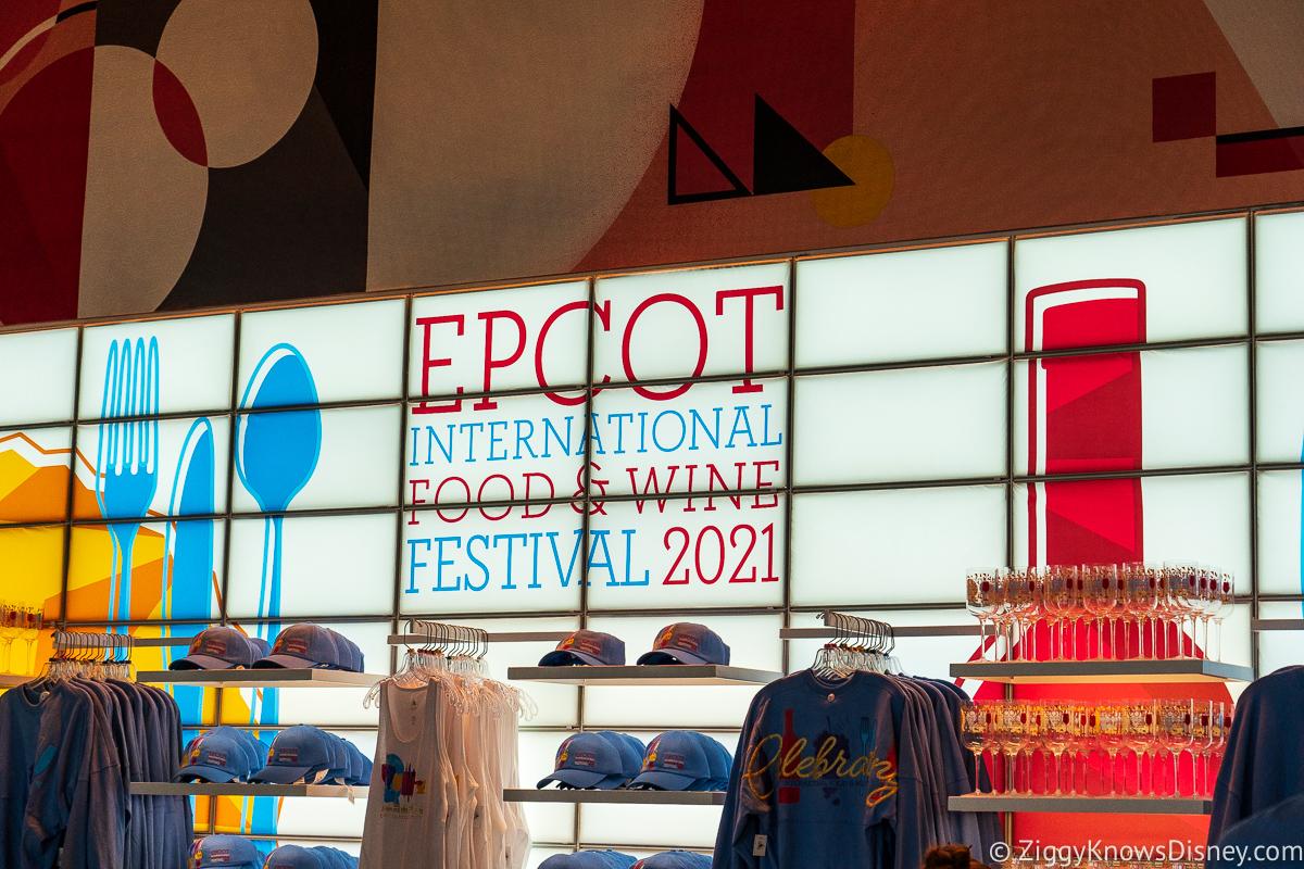 EPCOT Food & Wine Festival Merch Creations Shop EPCOT