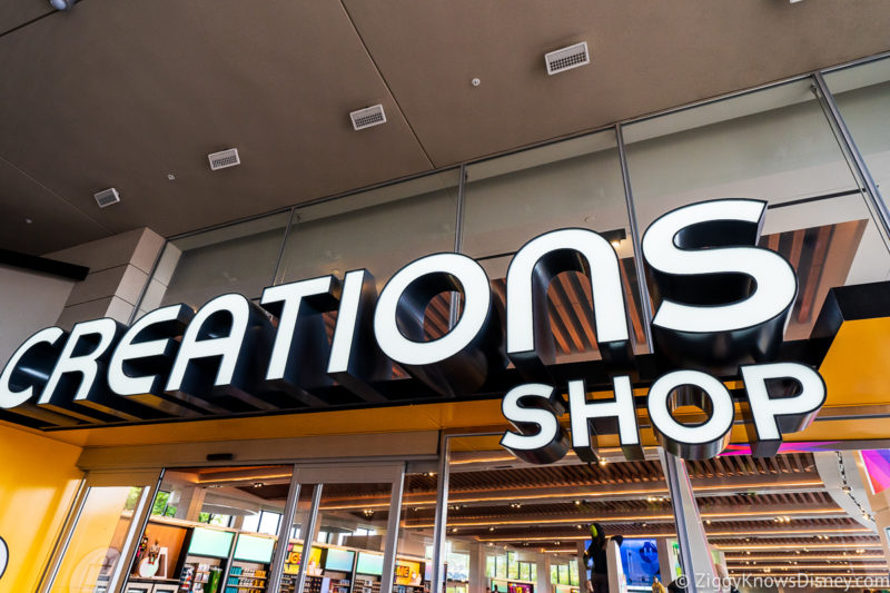 Creations Shop Sign