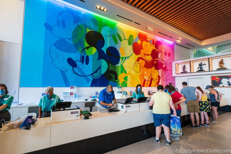 Creations Shop Colorful Mickey Mouse Mural EPCOT