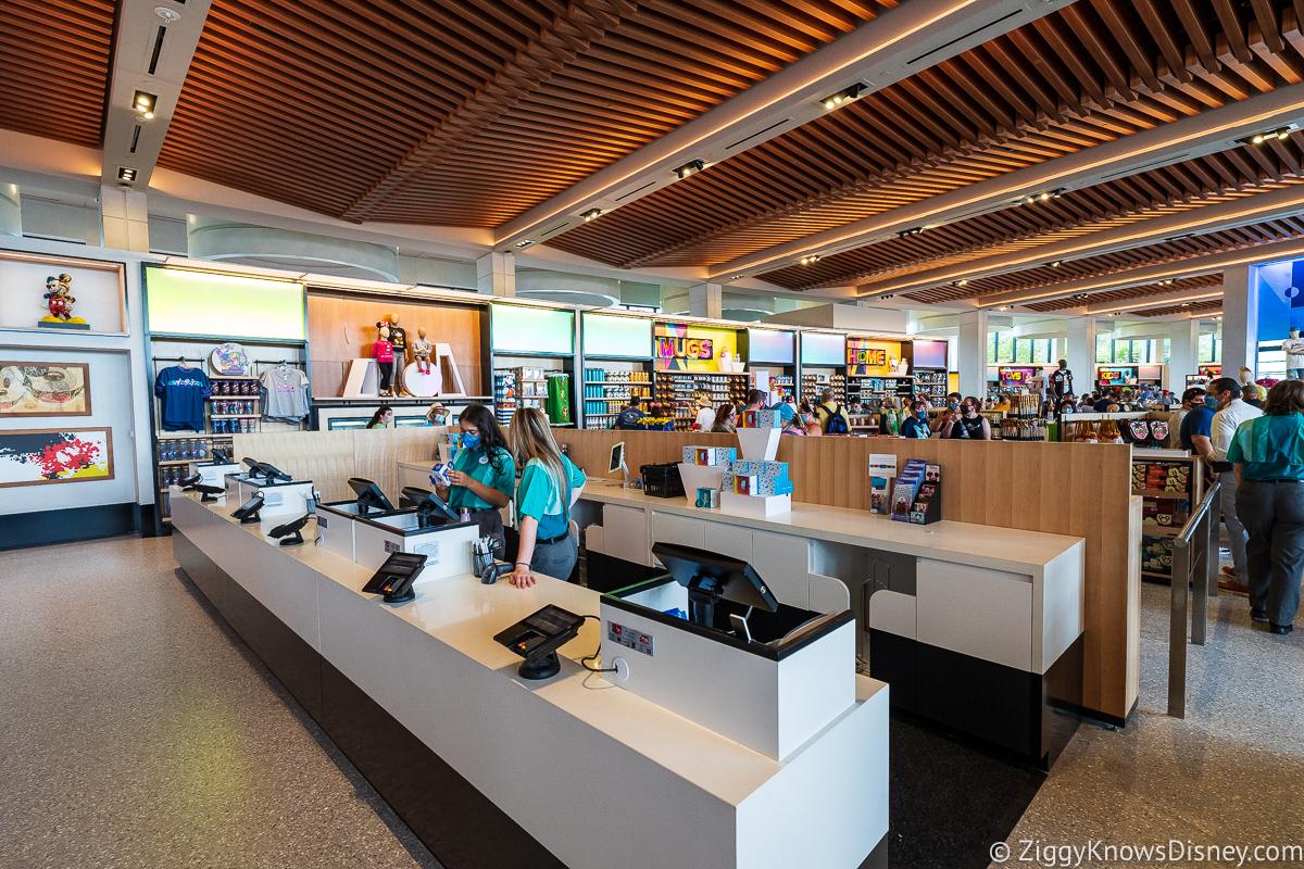 Creations Shop cash registers EPCOT