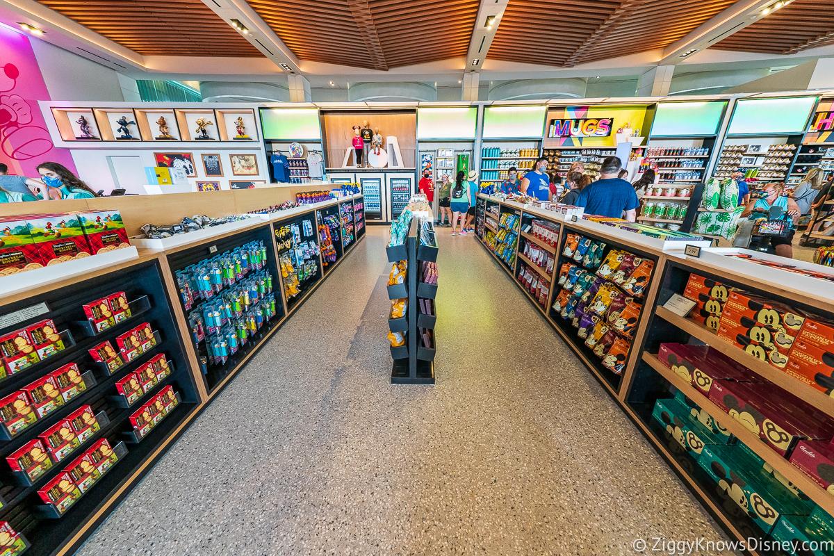 Creations Shop Checkout line EPCOT
