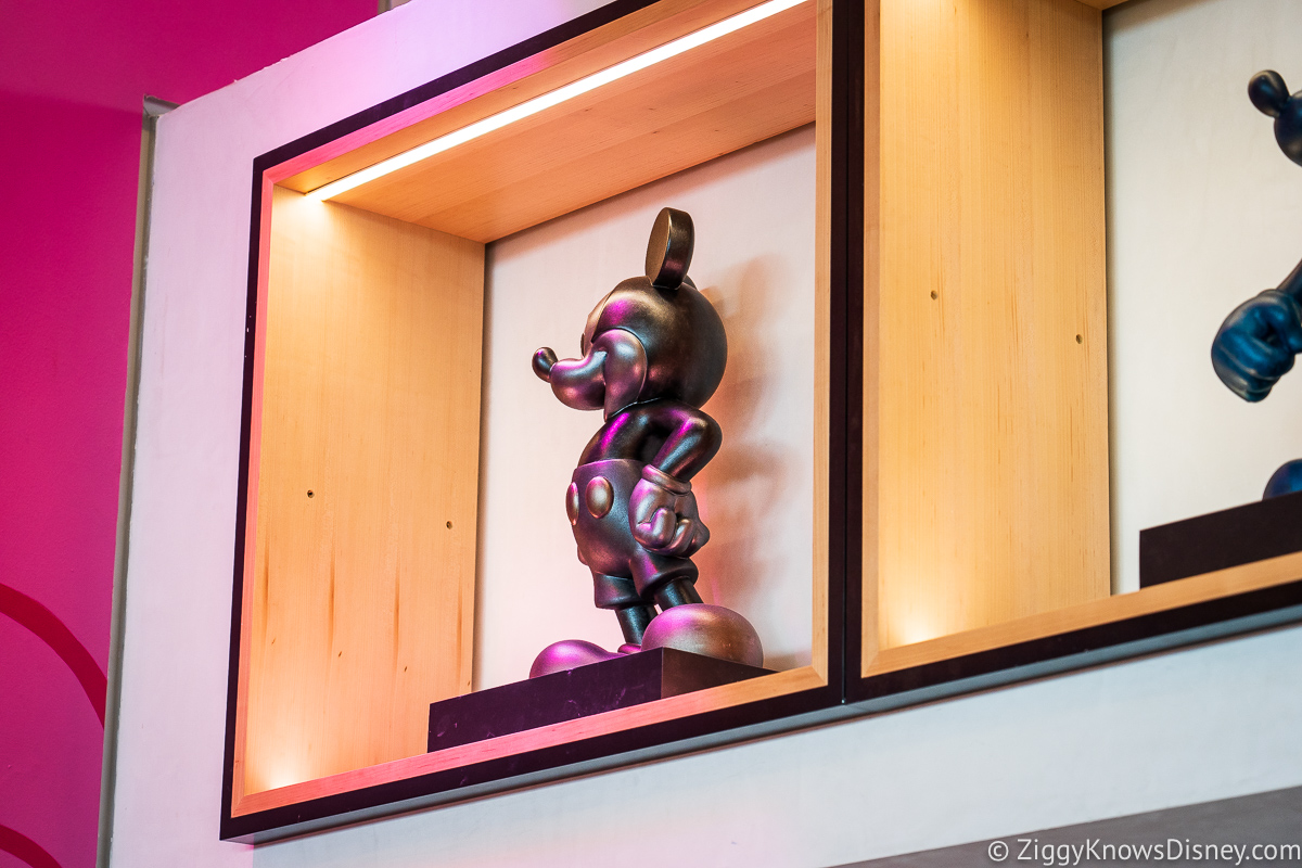 Creations Shop Silver Mickey Mouse EPCOT
