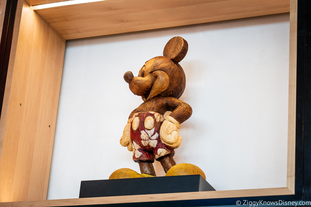 Creations Shop Wooden Mickey Mouse EPCOT