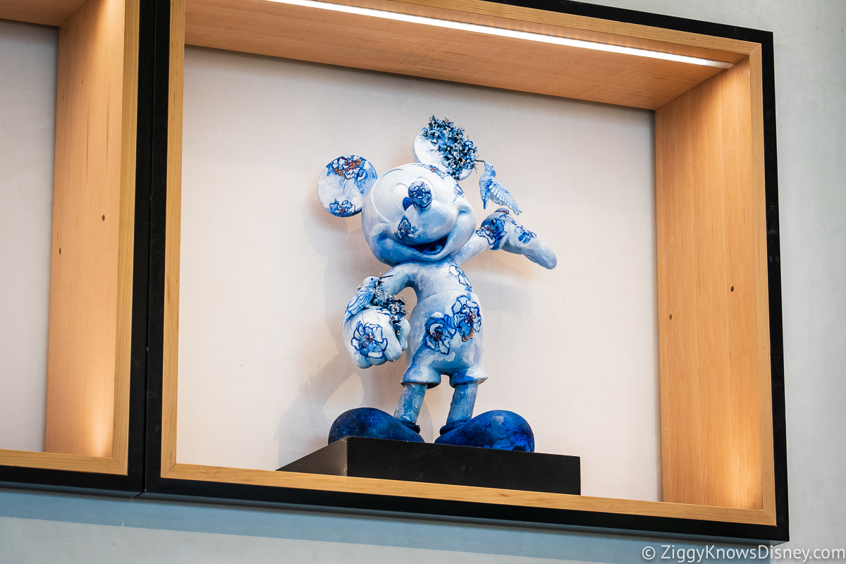 Blue Mickey Mouse Creations Shop EPCOT
